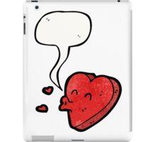 cartoon love heart iPad Case/Skin