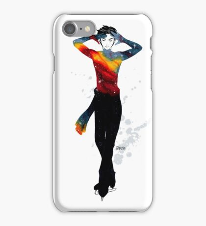 Galactic Skaters - Phichit iPhone Case/Skin