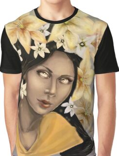 South Asian Lily Graphic T-Shirt