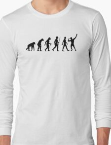 Evolution of Zyzz Black Long Sleeve T-Shirt