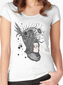 GaiaInk Women's Fitted Scoop T-Shirt