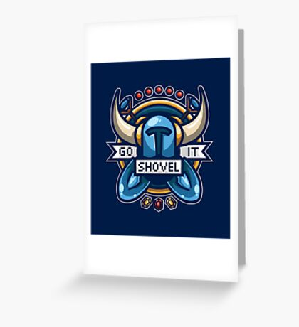Go Shovel It Greeting Card