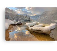 Lake Bohinj in Winter, Slovenia Canvas Print
