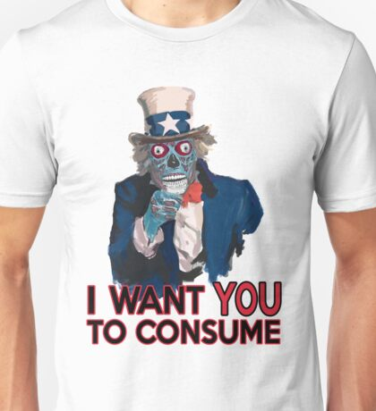 They Live Uncle Sam Unisex T-Shirt