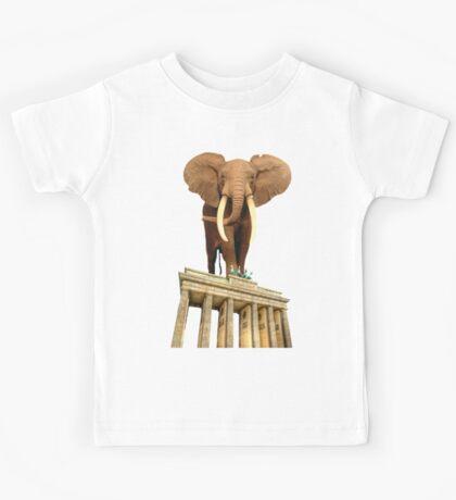 space elephant Kids Tee