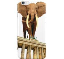 space elephant iPhone Case/Skin