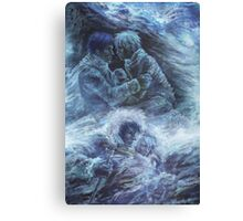 Left hand of darkness Canvas Print