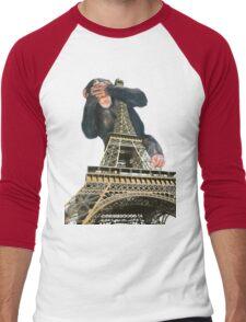 sky monkey #1 Men's Baseball ¾ T-Shirt