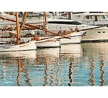 Barca Boats Photographic Print