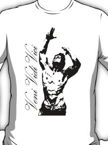 Zyzz Pose Exclusive Portrait Veni, Vidi, Vici T-Shirt
