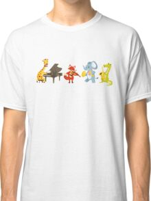 Animal band playing music Classic T-Shirt