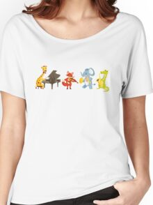 Animal band playing music Women's Relaxed Fit T-Shirt