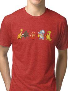 Animal band playing music Tri-blend T-Shirt
