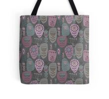 Decoration with abstract flower Tote Bag