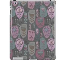 Decoration with abstract flower iPad Case/Skin