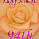 Happy 94th Birthday Flower by martinspixs