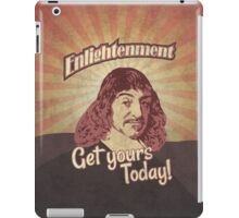 Rene Descartes' Enlightenment iPad Case/Skin