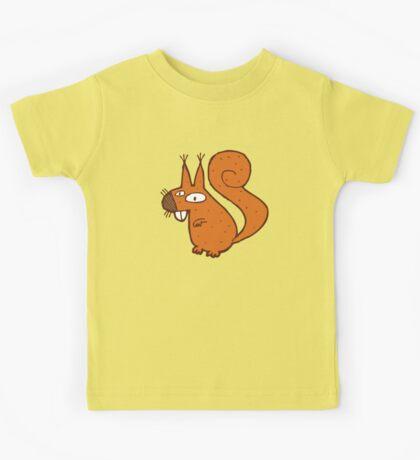 Cute cartoon squirrel Kids Tee