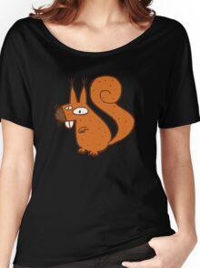 Cute cartoon squirrel Women's Relaxed Fit T-Shirt