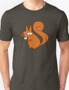 Cute cartoon squirrel Unisex T-Shirt