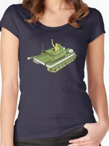 The Art of War Women's Fitted Scoop T-Shirt