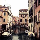 Venetian Canals  by Emily Jane Dixon