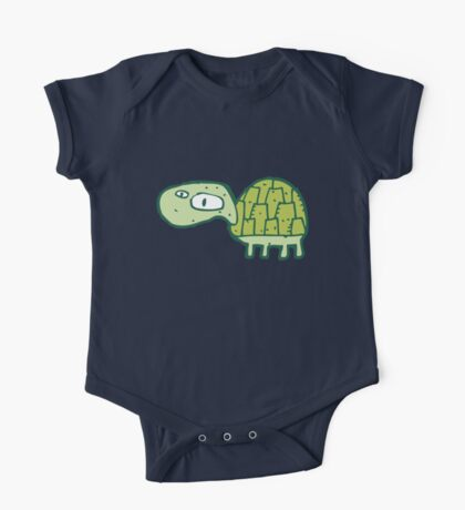 Funny cartoon turtle One Piece - Short Sleeve