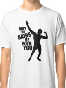 Zyzz May the Gains be with you Classic T-Shirt
