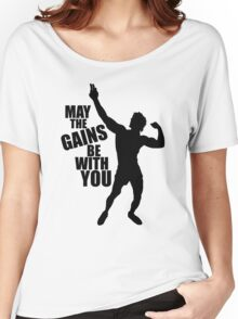 Zyzz May the Gains be with you Women's Relaxed Fit T-Shirt