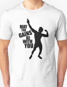 Zyzz May the Gains be with you Unisex T-Shirt