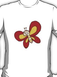 Cute funny cartoon butterfly T-Shirt
