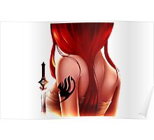 Erza Scarlet Poster