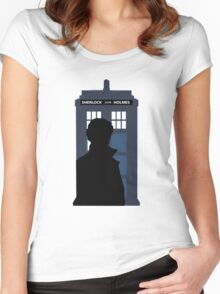 Time and Relative Dimensions in Baker Street Women's Fitted Scoop T-Shirt