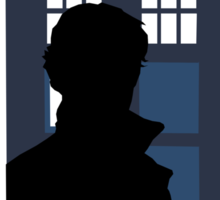 Time and Relative Dimensions in Baker Street Sticker