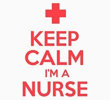 Keep Calm I'm A Nurse Womens Fitted T-Shirt