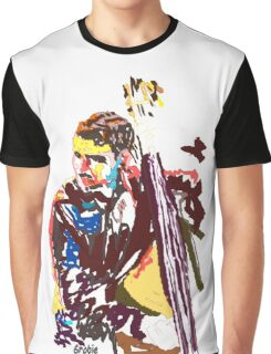 Jazz Bass player Graphic T-Shirt