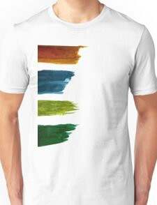 Water Strokes | Four| Unisex T-Shirt