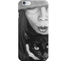 kitty kat magic iPhone Case/Skin