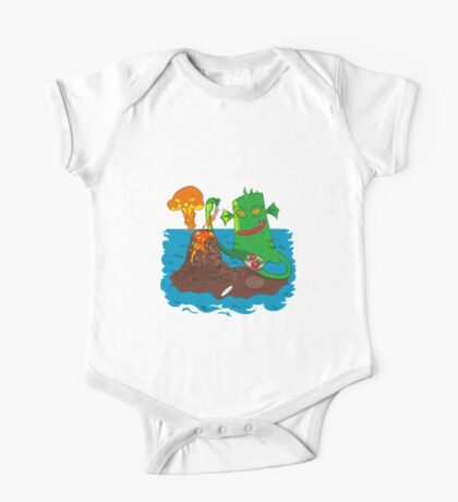 Sea monster One Piece - Short Sleeve