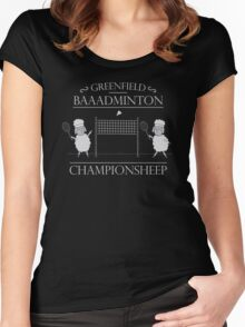 The Championsheeps Women's Fitted Scoop T-Shirt