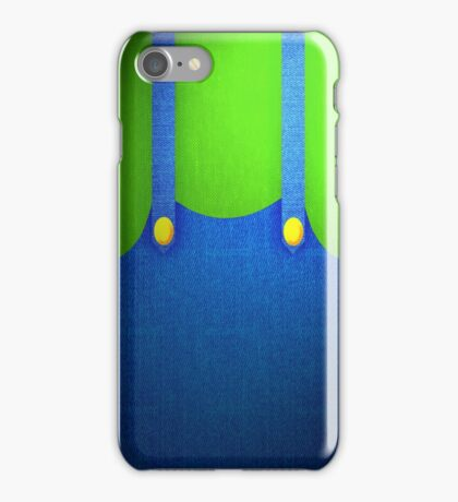 Luigi Suit iPhone Case/Skin