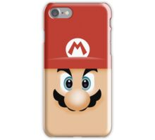 Mario Face iPhone Case/Skin