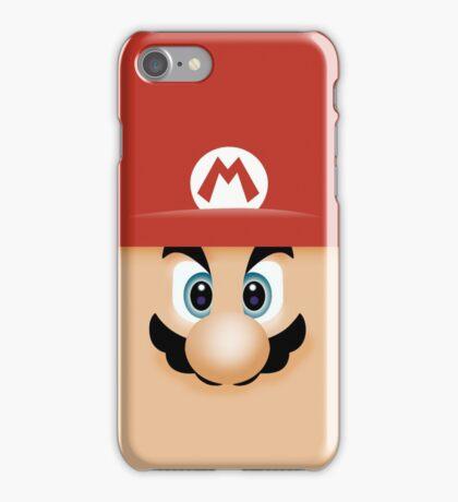 Mario Face iPhone Case/Skin