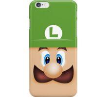 Luigi Face iPhone Case/Skin