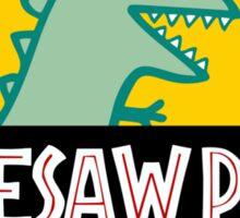 Dinesaw Park Sticker