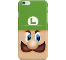 Luigi Death Stare iPhone Case/Skin