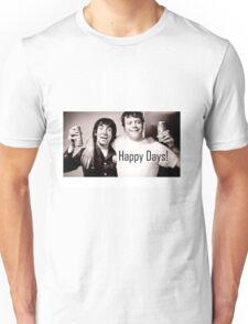Keith Moon Oliver Reed Drinking Happy Days Unisex T-Shirt