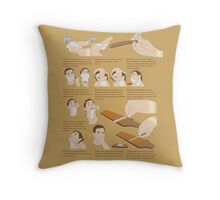 How to Shave Throw Pillow