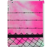 Pink Sky & Barbed Wire iPad Case/Skin
