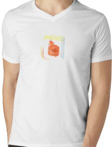 Water Strokes |  Strokes and patches  | Mens V-Neck T-Shirt